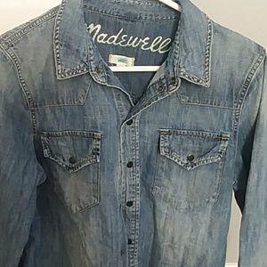 Madewell Cotton Denim Shirt